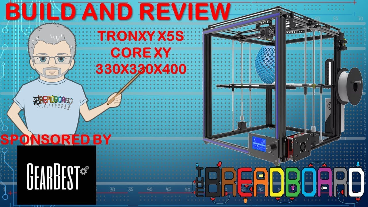 theBreadboard | Tronxy X5S Build and Review