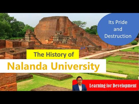 The History of Nalanda University   নালন্দা বিশ্ববিদ্যালয়ের ইতিহাস