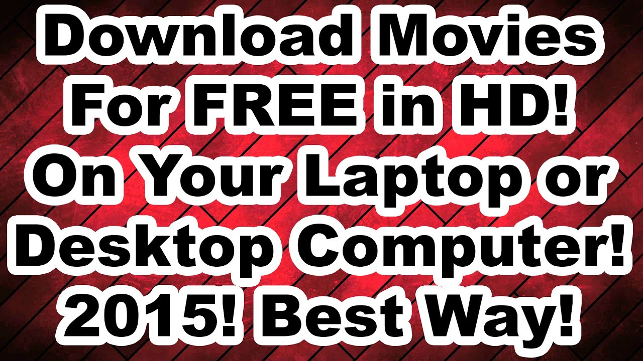 free movie download sites for laptop