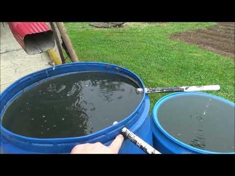 Вопрос: Как создать систему по сбору дождевой воды?