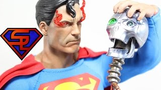 DC Comics Sideshow Collectibles Superman 1/6 Scale Collectible Figure Review