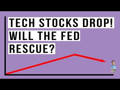Stocks Fall AGAIN As Tech Shares Fear the Fed QT Policy Will Bring Next Recession!