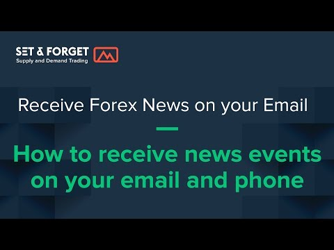 How to get notifications of big news forex events using MyFxBook