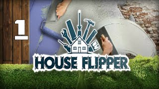 Selling My First House House Flipper Gameplay Part 1