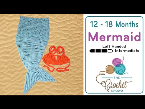 How To Crochet Baby Mermaid Tail Youtube