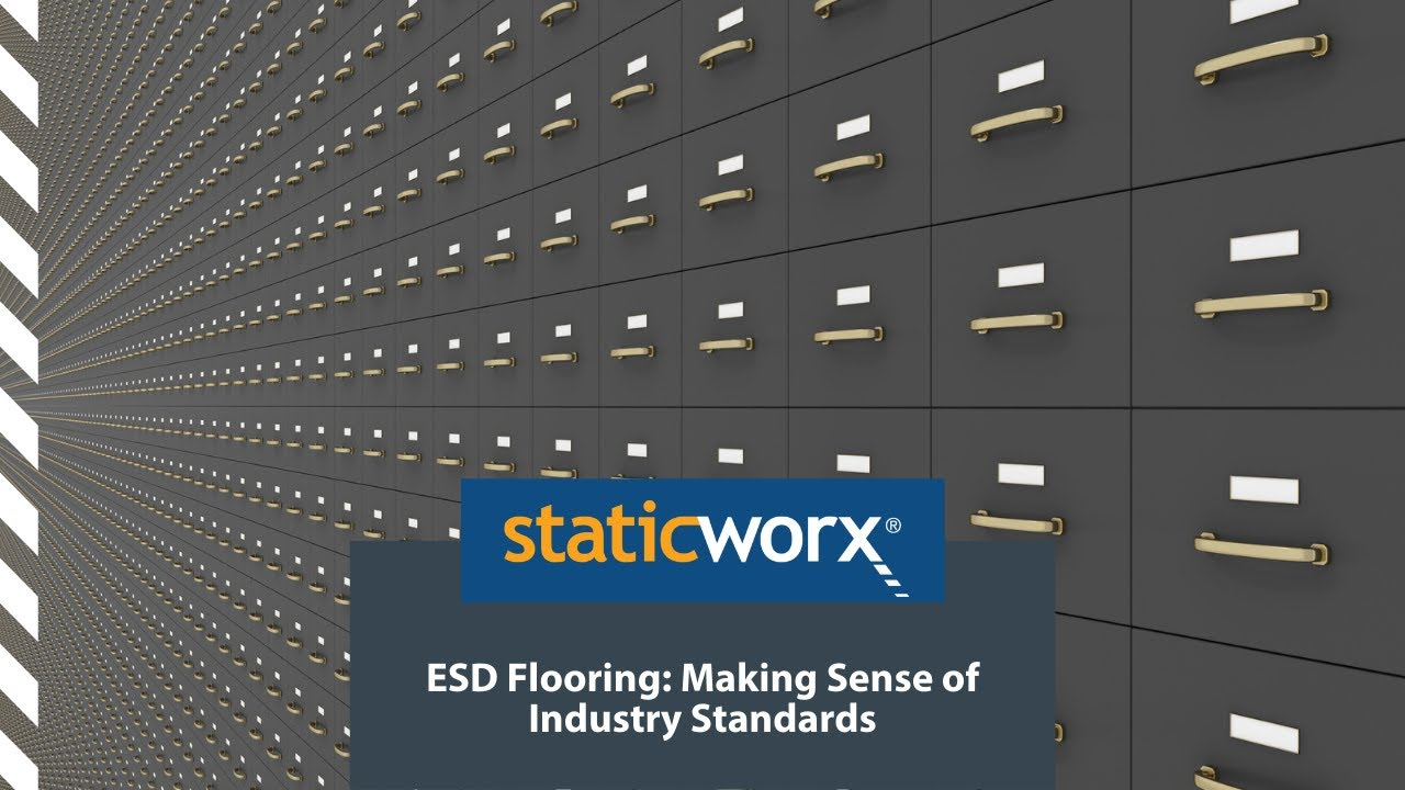 Making Sense Of ESD Standards For Electrostatic Discharge Problems - 3m esd flooring