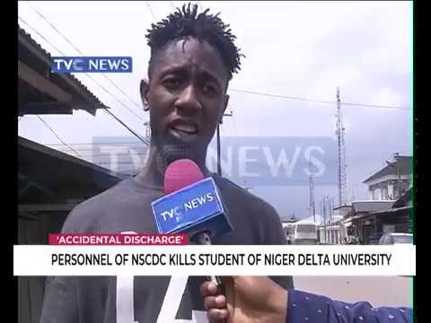 NSCDC personnel kills student of Niger Delta University