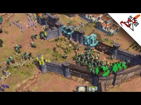 Age of Empires 3 - 4vs4 MASSIVE BATTLES | Multiplayer Gameplay