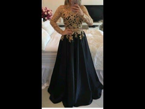 117fea86ee65d تفصيل فستان سواريه او خطوبه ( الجزء الاول ) - YouTube