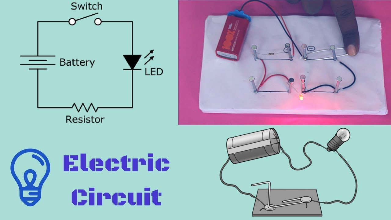 Electric Circuits 💡 || Physics Experiment ♢ ♢ - YouTube