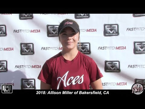 2018 Allison Miller Slapper Outfield Softball Skills Video  Aces