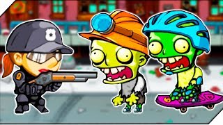 НОВАЯ ЗОМБИ УЛИЦА. НОЧНЫЕ ЗОМБИ НЕПОБЕДИМЫ - Игра Swat And Zombies # 4 Андроид игры про зомби