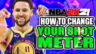 NBA 2K21 How To Change Shot Meter and BEST Methods To Shoot!   NBA 2K21 Shooting Tips