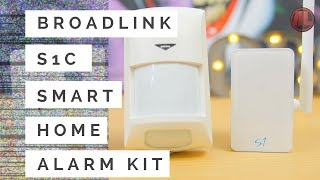 Broadlink S1C Smart Home Alarm Kit Unboxing, Review And Real Time Test