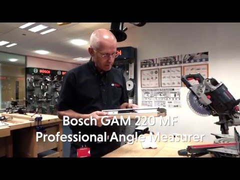 Bosch GAM 220 MF Professional Digital Angle Measure From Toolstop