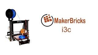 makerbricks i3c printing video
