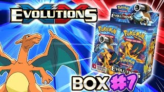 turbo opening xy evolutions booster box 7 all 36 packs pokemon tcg unboxing
