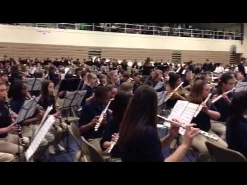 Copley Fairlawn middle school Band Concert