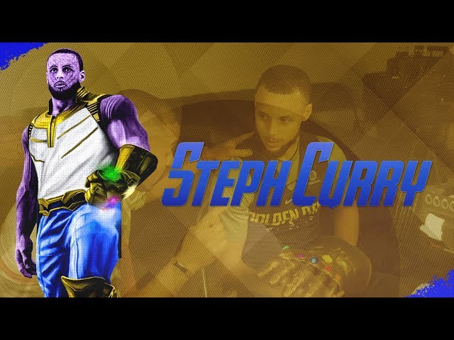Steph Curry Has An Infinity Gauntlet on Cabbie Presents