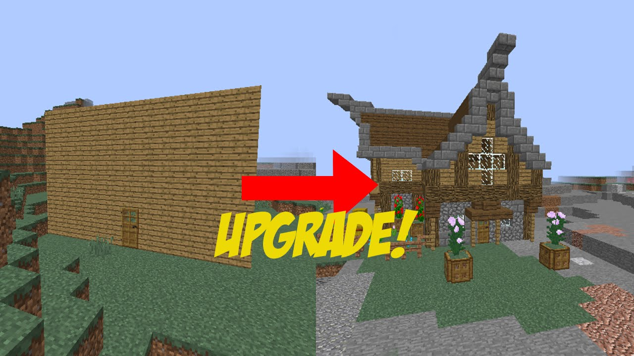8 easy steps to improve your house in minecraft - youtube