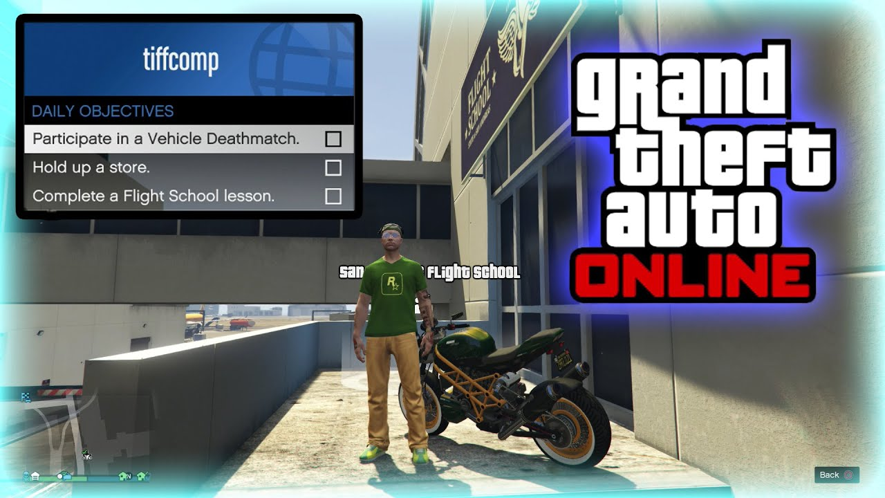 Gta 5 Online Daily Objectives Odo Day 32