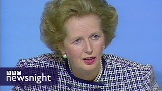 Flashback to the 1987 general election... with one week to go - BBC Newsnight