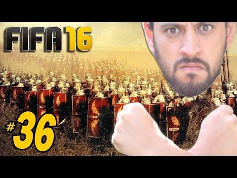 FIFA 16 Kariyer #36: ROMA İLE BİRİNCİLİK SAVAŞI!