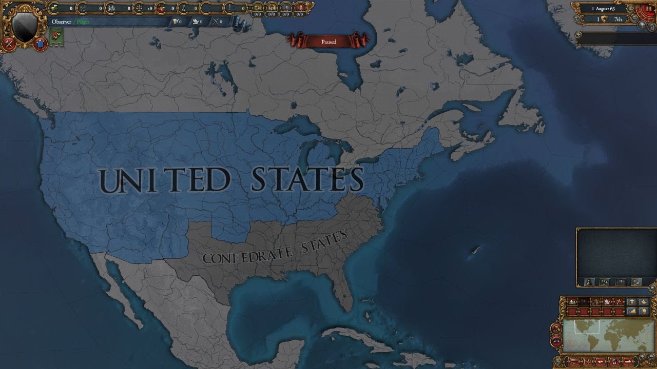Europa Universalis IV Custom Nation World Building American