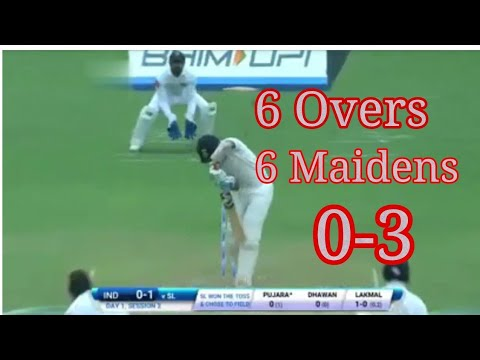 IND v SL1st Test Day 1: Suranga Lakmal best bowling spell 2017
