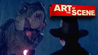 Jurassic Park's T-Rex Paddock Attack - Art of the Scene