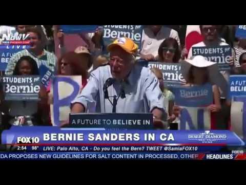 Bernie Sanders AMAZING Palo Alto Rally California Primary June 7 #FeelTheBern