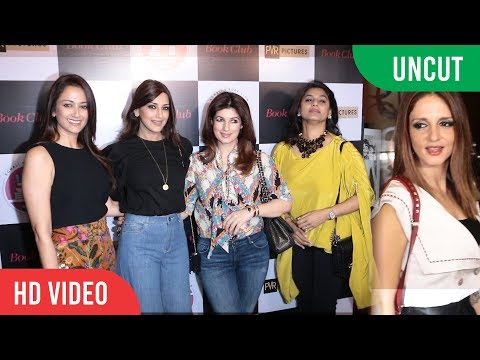 UNCUT - Hollywood film, Book Club Indian Premier | Sonali Bendre, Twinkle Khanna, Sussanne Khan