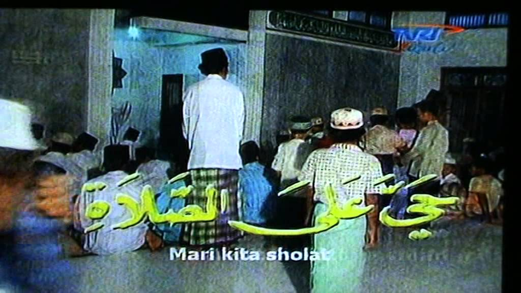 AZAN SOLAT MAGRIB TVRI JAKARTA - YouTube