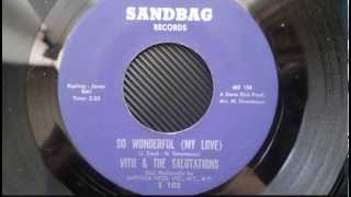"Vito & The Salutations---""So Wonderful (My Love)"""