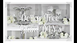 Glam Pedestal||Tealight Candle Holders|| Vase DIY's