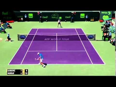 Novak Djokovic vs Andy Murray || 2015 Miami Masters Final Highlights