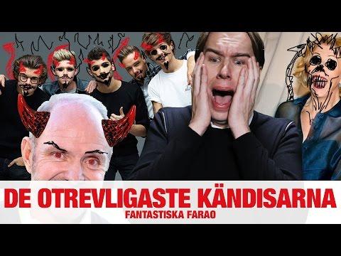 [FARAO] De otrevligaste kändisarna - NRJ SWEDEN