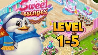 Sweet Escapes: Design a Bakery with Puzzle Games Level 1-5 screenshot 3