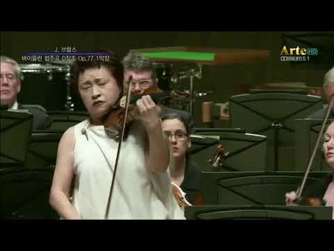 Kyung wha chung plays Brahms violin concerto (Tong-yeong International Music Festival 2018)