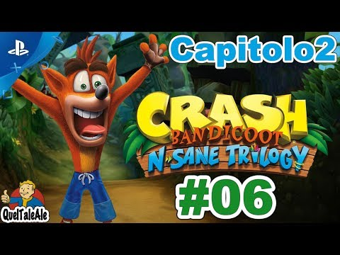 Crash Bandicoot N. Sane Trilogy - Gameplay ITA - Walkthrough [CAPITOLO2] #06 - Occhio alle api