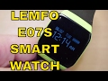 Lemfo E07S Smartwatch Review