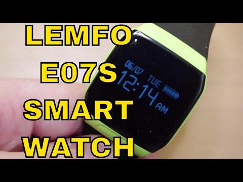 Lemfo E07S Smartwatch Review