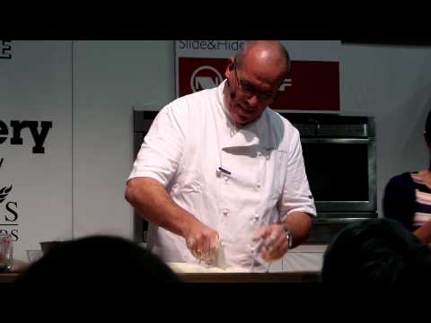 Master class in baking quick simple bread from a French Master Baker Richard Bertinet