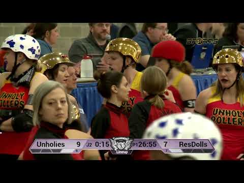 WI57 | Mad Rollin' Dolls | Unholy Rollers vs. The Reservoir Dolls