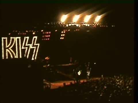 KISS: Stockholm, SWE 1984-10-26 8mm movie