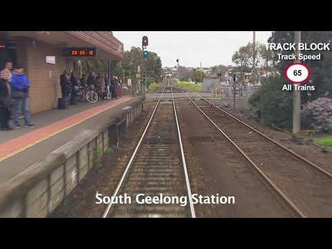 Drivers View: Waurn Ponds Railway Station To Southern Cross Railway Station