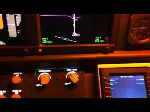 Lnav and Vnav procedures boeing 737