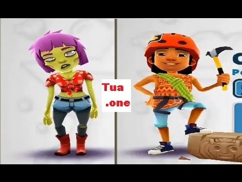 Subway Surfers Android Gameplay part 51 Zoe And Carlos❦ Tuaone Games