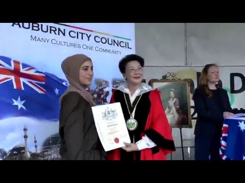 Auburn Citizenship Ceremony 2016 Australian Day 06 Citizen Certificates