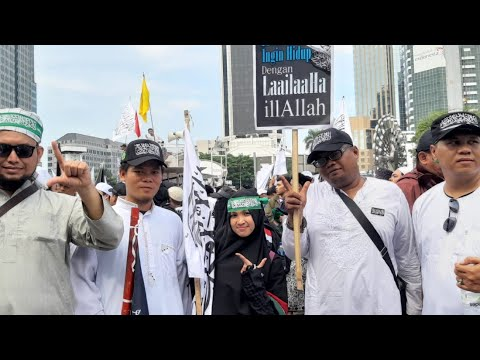 Ribuan Warga Lampung Hadiri Reuni 212